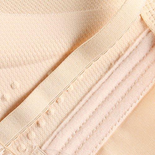 Heheja Sin Costuras Maternidad Ropa Interior Sujetador de Lactancia Confortable Embarazadas Bragas Skin