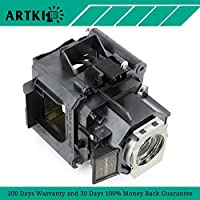 ELPLP63 / V13H010L63 Replacement Lamp for Epson PowerLite 4200W 4300 G5650W EB-G5750WU EB-G5800 EB-G5900 EB-G5950 H345A H347A H349A