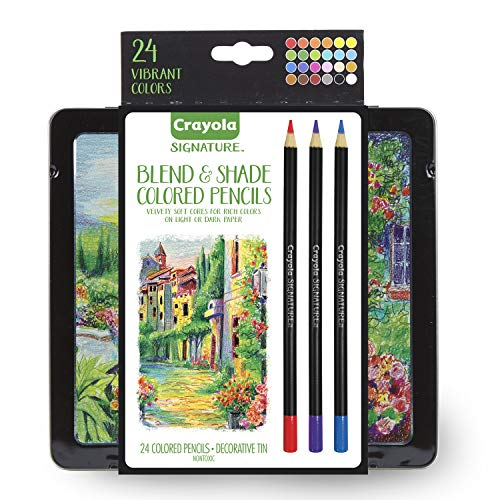 Crayola Signature Blend & Shade Soft Core Colored Pencils in