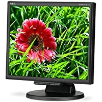NEC E171M-BK 17IN LED BACKLIT LCD MONITOR, 1280 X 1024, HEIGHT-ADJUSTABLE STAND, DIGITAL / AN