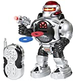 walking and talking robot - Best Choice Products Remote Walking Control RC Robot Talking Dancing W/ Shooting Fire Disc Action Toys Lights & Sound