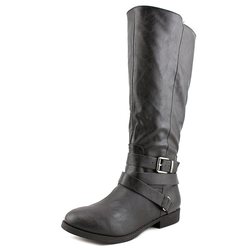Style & Co. Womens Lolah WIDE CALF Wide Calf Closed Toe Fashion Boots, Black, Size 5