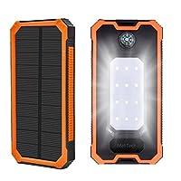 20000mAh Solar Phone Charger, MeliTech S...