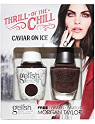 "Gelish Thrill of the Chill Collection Gel Polish + Nail Lacquer ""Caviar On Ice"""