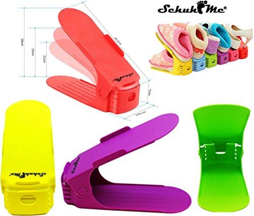 Profi Schuhhalter x 16 Verstellbarer Schuhstapler SchuhMe® XnTtq5xx