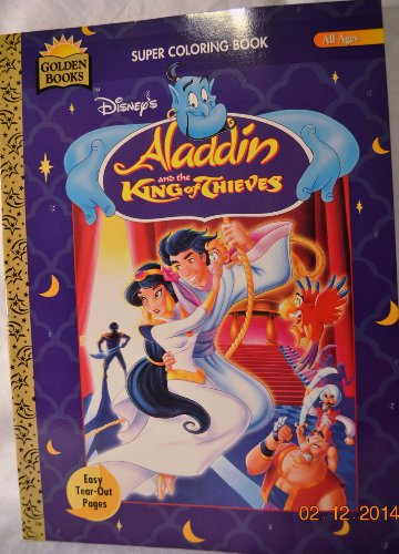 Disney's Aladdin and the King of Thieves Super Coloring Book