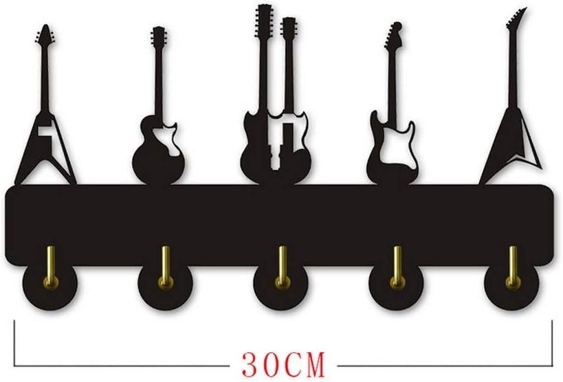 ANEEY Toalla Madera Ganchos Guitarra Instrumento Forma Silueta ...