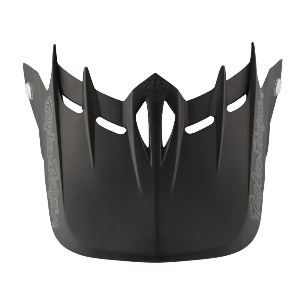 Troy Lee Designs Adult D2 Visor Midnight 3 BMX Helmet Accessories - Black/One Size