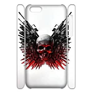 T-TGL(RQ) Iphone 5C 3D Custom Phone Case The Expendables with Hard Shell Protection