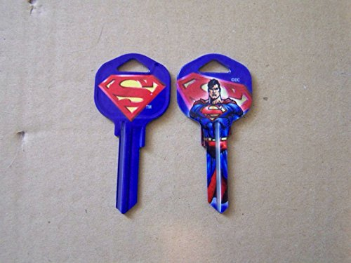 SUPERMAN KWIKSET KEY BLANK