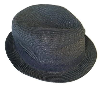 John Lewis Mens Braided Trilby Hat Charcoal M e635afa20cb