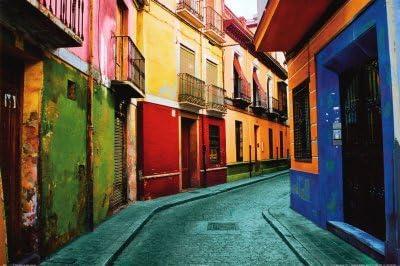 Lámina Granada, España, de Ynon Mabet, Tamaño: 61 x 41 cm: Amazon.es: Hogar