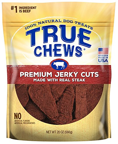 - True Chews Premium Jerky Cuts Made with Real Steak 20 oz
