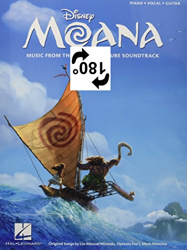 Book cover from Moana: Music from the Motion Picture Soundtrack by Lin-Manuel Miranda