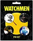 NECA Watchmen Movie 'The End Is Nigh' 4-Pin Set