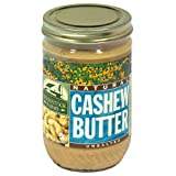 Woodstock Farms Cashew Butter, 16 Ounce -- 12 per case.