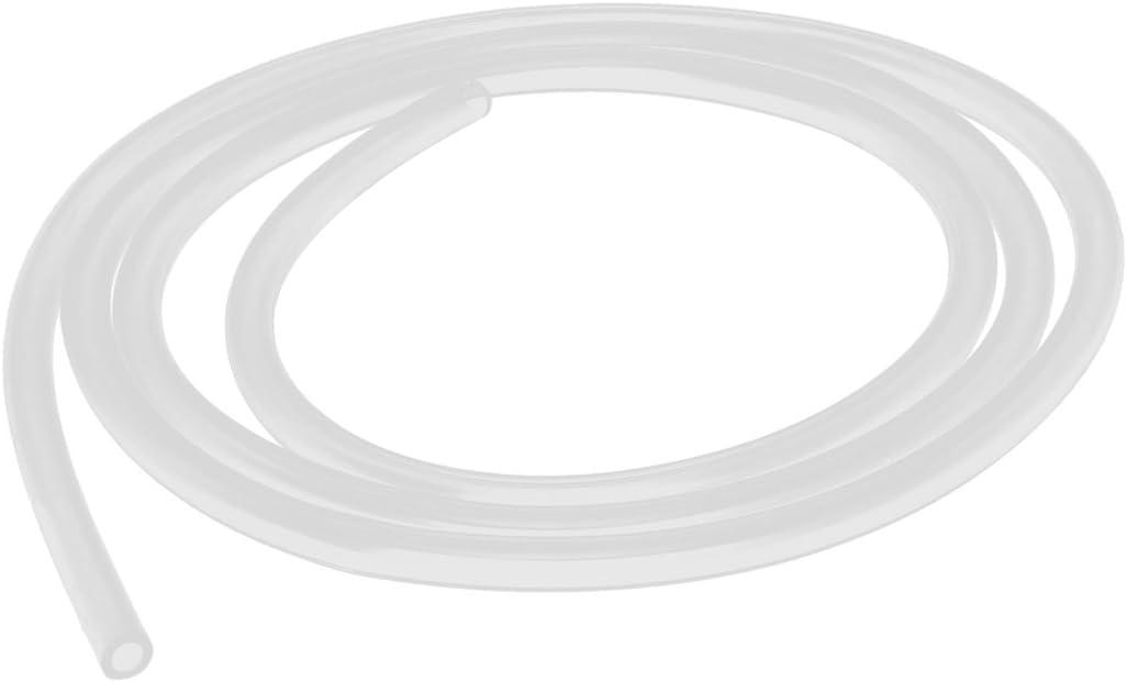 sourcingmap Tuyau de tuyau de pompe /à air deau de bi/ère de tube de vide de silicone de 3mm x 5mm 1 m/ètre