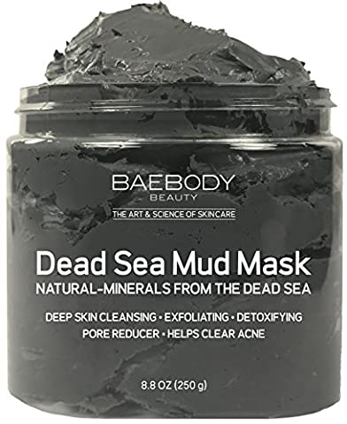 Dead Sea Mud Mask Best for Facial Treatment, Acne, Oily Skin & Blackheads - Minimizes Pores, Reduces Wrinkles, and Improves Overall Complexion. Natural-Minerals From The Dead Sea 8.8 - Best Clay Mask