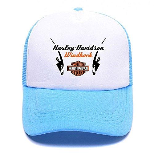 Harley D Black Baseball Caps Gorras de béisbol Trucker Hat Mesh Cap For Men Women Boy Girl 011 Sky Blue
