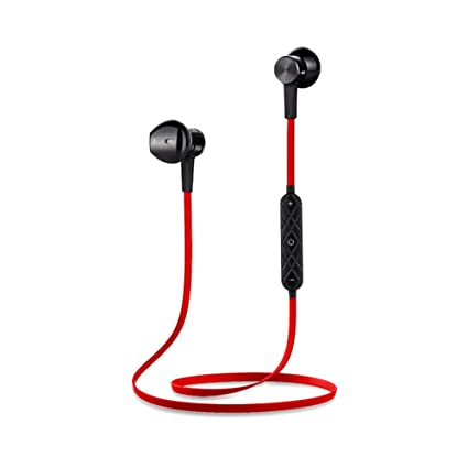 Auriculares Bluetooth,Manos Libres Bluetooth,In-Ear Mini Magnética Cuello Colgante Metal Bluetooth