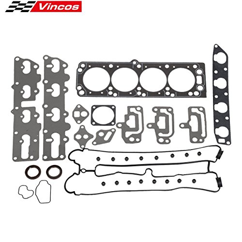(Cylinder Head Gasket kit Replacement For AMIGO RODEO X22SE Replacement For DAEWOO NUBIRA X20SE Replacement For SUZUKI FORENZA RENO A20DMS 2.2L L4 DOHC)