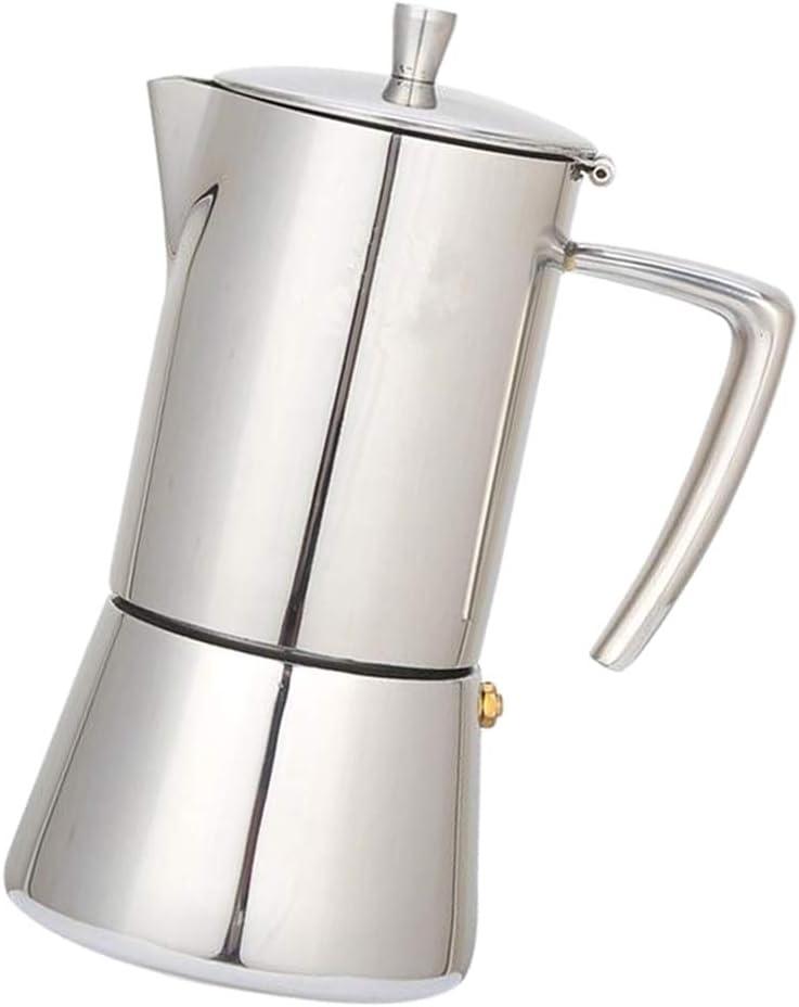 Baoblaze 1 pc Cafetera de Goteo Accesorios de Hogar Cocinas de Fiestas Adecuado para Café - Plata 200 ml: Amazon.es: Hogar