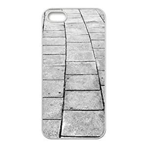 Tyquin Cobblestone Alley iPhone 5,5S Case, Cute Iphone 5s Cases For Teen Girls {White}