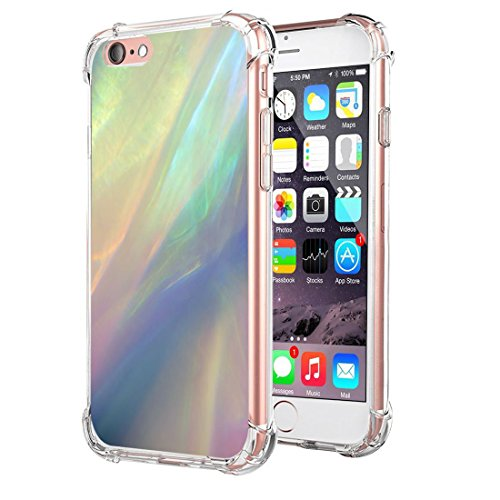 Price comparison product image Apple iPhone 6 6s Plus Case Soft Ultra-Thin Soft TPU Anti-scrape Air Cushion Technology Protective Cover for i Phone 6 6s Plus (8, iPhone 6/6s Plus)