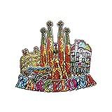 3D Sagrada Familia Barcelona Spain Refrigerator Fridge Magnet Tourist Souvenirs Handmade Magnetic Stickers Home Kitchen Decoration Travel Gift