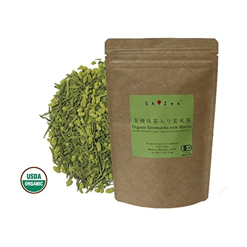 brown rice tea with matcha - 8