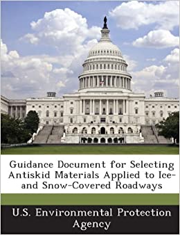 Book Guidance Document for Selecting Antiskid Materials Applied to Ice-and Snow-Covered Roadways