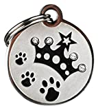GoTags Pet ID Designer Dogs & Cats Crown Pet