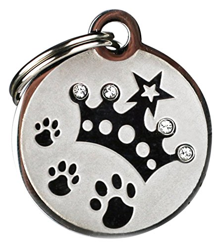 GoTags Pet ID Designer Dogs & Cats Crown Pet Tags, 1