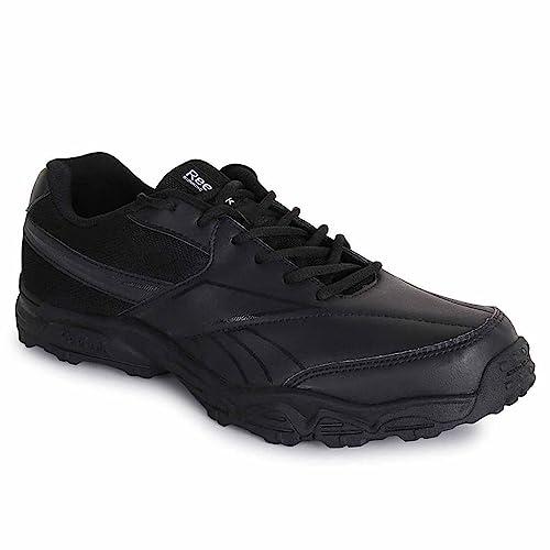 c7320d61f99 Reebok Black Formal School Shoes for Men School Uniform Wear (UK India Size  6