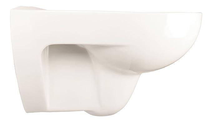 Amazon.com: Keramag Renova No. 1 Wall Mounted Toilet Without Bowl Rim - White; Wash Down Toilet: Home & Kitchen