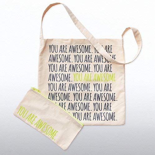 (Totes Amazing Canvas Crossbody Bag -