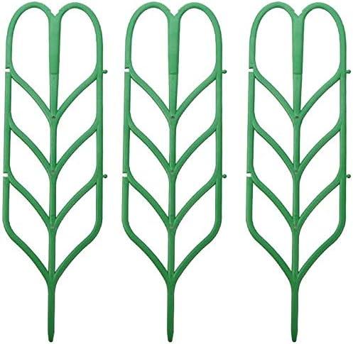 Cfbcc 3 PC Mini Marco Enrejado Planta trepadora Flor Artificial Estante Herramienta for el jardín Ayuda del Soporte del Soporte for Plantas de Preservación Marco: Amazon.es: Hogar
