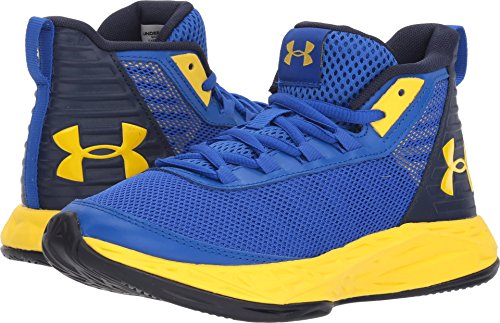 official photos c67d0 17df4 Galleon - Under Armour Boys  Grade School Jet 2018 Basketball Shoe, Team  Royal (402) Midnight Navy, 4.5