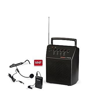 Fonestar ASH-25 Alámbrico Negro - Amplificador de Audio (600 Ω, 20 W