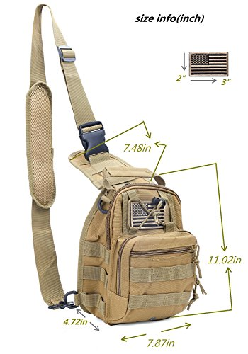 Boxuan Outdoor Tactical Shoulder...