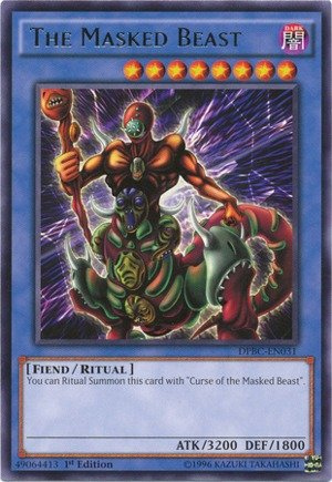 Yu-Gi-Oh! - The Masked Beast (DPBC-EN031) - Duelist Pack 16: Battle City - 1st Edition - Rare