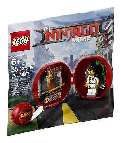 LEGO 5004916 The LEGO Ninjago Movie Kai's Dojo Pod