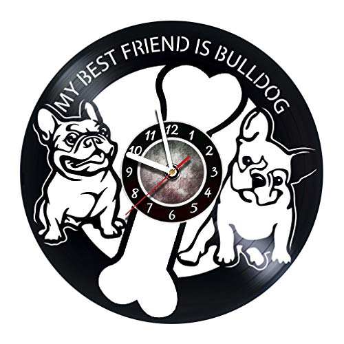 amazon amararoom bulldog wall clock made of vinyl record Types of Big Cats amararoom bulldog wall clock made of vinyl record original decor unique design