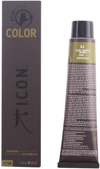 Icon Ecotech Natural Color 6.4 Dark Copper Blonde Tinte - 60 ...