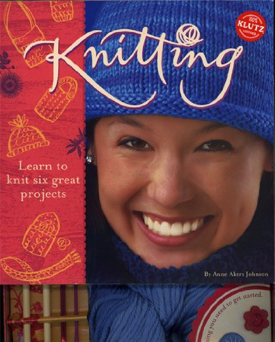 Klutz Knitting Kit: Learn to knit six great projects