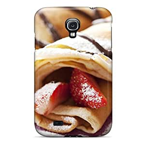 DaMMeke Galaxy S4 Hybrid Tpu Case Cover Silicon Bumper Strawberry Pastry