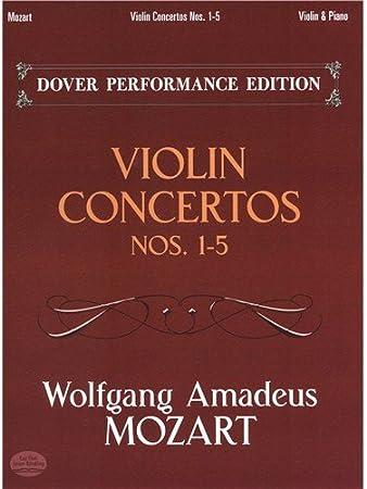 Mozart Concertos pour violon 1-5