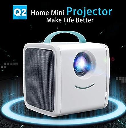 Amyove Mini proyector Proyector 700 lúmenes Educación para Padres ...