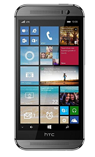HTC One M8 Windows 32GB Verizon 4G LTE Smartphone w/ Cortana - Gunmetal Grey (Windows 8 Phone Verizon compare prices)