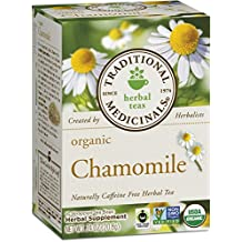 Traditional Medicinals Organic Chamomile Tea, 16 Tea Bags (Pack of 6)